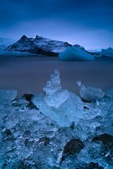 Jewels of Fjallsárlón (- Etude -) Tags: iceland zachchang ice landscape longexposure sony sonyalpha sea fjallsárlón