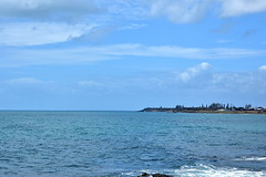 Elliot Heads [Bundaberg] (Dreaming of the Sea) Tags: 2019 elliotheads coralsea water waves rocks reflections norfolkpine clouds sky sea surf bluesky tamronsp2470mmf28divcusd nikond7200 bluewater