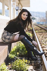 Myriam (FotoGrafiche FS) Tags: sony sonyalpha a6500 apsc vintagelens bokeh portrait italy eyes emount girl 50mm