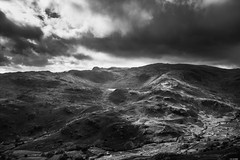 Light and shadow (Rico the noob) Tags: dof d850 lakedistrict landscape nature outlook mountains outdoor lake 2470mmf28 clouds hills trees published water uk monochrome river tree travel sky bw 2018 blackandwhite 2470mm mountain
