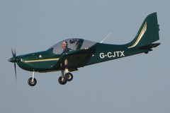 G-CJTX Wycombe Air Park 4 January 2019 (ACW367) Tags: gcjtx evektor ev97 eurostarsl gtxgroup wycombeairpark
