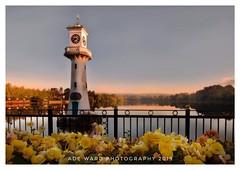 Autumn in bloom (awardphotography73) Tags: scenery landscape wales cardiff beautiful lake water nature flowers autumn lighthouse roathpark captainscottslighthousememorial