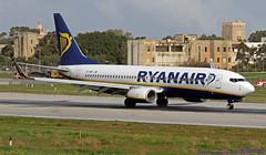 EI-EMP LMML 05-02-2019 Ryanair Boeing 737-8AS CN 40285 (Burmarrad (Mark) Camenzuli Thank you for the 17.2) Tags: eiemp lmml 05022019 ryanair boeing 7378as cn 40285
