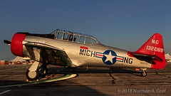 North American SNJ (Norman Graf) Tags: n6637c airshow aircraft at6 2017thunderovermichigan airplane northamerican harvard plane snj tom texan trainer wwii warbird