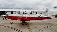 Beechcraft T-6B Texan II of Training Air Wing 5 (TAW-5) from NAS Whiting Field (Norman Graf) Tags: usn aircraft taw5 beech airplane cnatra t6b 2017nasoceanaairshow airshow t6 navalaviation 166051 beechcraft chiefofnavalairtraining e051 naswhitingfield plane texanii trainer trainingairwing5 unitedstatesnavy