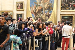 Mona Lisa (bsupranzetti) Tags: france frança paris museedulouvre louvre louvremuseum selfie gioconda monalisa davinci photo takingphoto