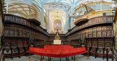 Astorga-Catedral-Coro (dnieper) Tags: catedraldeastorga coro sillería astorga león spain españa panorámica