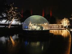 Autostadt Wolfsburg (muckypuppy) Tags: deutschland germany architektur architecture wolfsburg volkswagen vw niedersachsen christmas weihnachten reflection beetle käfer auto car