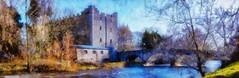 Milford (kckelleher11) Tags: 40150mm carlow ireland milford olympus panorama effect em5 f28 mzuiko painted panoramic