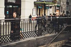 lovesickness (99streetstylez) Tags: streetphotography streetphoto strassenfotografie 99streetstylez woman city metropole color