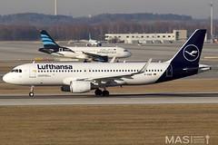 Lufthansa A320-200 D-AIWE @ MUC (MASAviation) Tags: airbus boeing spotter aviation avgeek canon avion aviator airplane