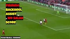 Firmino Lovely Backheel Assist to Mo Salah Goal vs Bournemouth (triettan.tran) Tags: firmino lovely backheel assist mo salah goal vs bournemouth