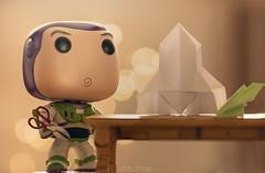 """To infinity and beyond"""" (mariajoseuriospastor) Tags: papiroflexia origami bokeh toystory toy disney buzz"""