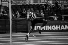 089A3757 (Paul Robinson Photography UK) Tags: sports sport athlete british athletics birmingham arena high jump monochrome mono blackandwhite