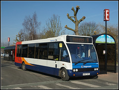 47518, Nuneaton (Jason 87030) Tags: nuneaton stagecoach midlands optare solo stockings suspenders stockingford red white blue orange passengers bus station sunday 2019 february e shelter tree trunk branch naked bare minimum color colour sony ilce alpha a6000 lens tag publictransport route service