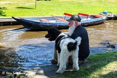giethoorn (31 van 43) (heinstkw) Tags: boten bruggen dorp giethoorn jansklooster varen vollenhoven water