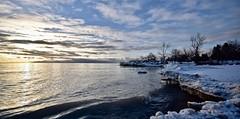 FROZEN DAWN, ACA PHOTO (alexanderrmarkovic) Tags: frozendawn acaphoto lakeontario scarborough ontario canada winter dawn