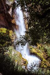 Waterfall - Rifle Falls, Colorado (BeerAndLoathing) Tags: 2018 usa roadtrip riflefalls pallisadetrip 77d summer august trip waterfall canon longexposure canoneos77d colorado
