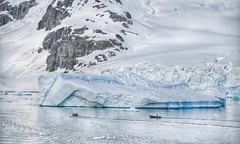Scale  @ Antarctica (Timothy Hastings) Tags: landscape vast open wide scale limits protections solitude evo tourism exloration boats zodiac antarctica antarctic snow ice reality wilderness nature