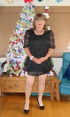 LBD (Trixy Deans) Tags: crossdresser cute cd crossdressing classy cocktaildress classic corset crossdreeser xdresser sexy sexyheels sexytransvestite sexylegs shemale shortdress frilly frills hot heels highheels legs