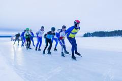 Skaters on 200 km maraton in the morning (VisitLakeland) Tags: finland finlandicemarathon kallavesi kuopio kuopiotahko lakeland competition event järvi jää kilpailu kisa lake liikunta luistelu luistelurata luonto maisema maraton nature outdoor satama scenery skate skating sport talvi tapahtuma winter