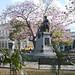 Monumento a Marta Abreu en la plaza Leoncio Vidal, Santa Clara, Cuba