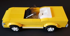 66 GT Convertible (Autobricknology) Tags: 1966 ford mustang gt 289 yellow convertible