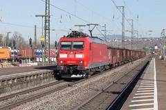 DB 185 093 Weil am Rhein (daveymills37886) Tags: db 185 093 weil am rhein baureihe bombardier traxx cargo
