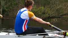 IMG_0907 (NUBCBlueStar) Tags: rowing remo rudern river aviron february march star university sunrise boat blue nubc sculling newcastle london canottaggio tyne hudson thames sweep eight pair