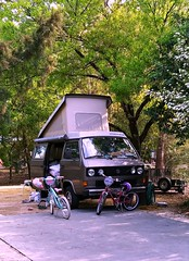 VW Westfalia (Dave* Seven One) Tags: wdw disneyworld disney fortwilderness camping campground family wdw2019 westfalia vw csmpervan camper t3 vanagon volkswagen watercooled classic 1980s