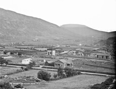 Loo Bridge, Co. Kerry (and no toilet humour please?) (National Library of Ireland on The Commons) Tags: robertfrench williamlawrence lawrencecollection lawrencephotographicstudio thelawrencephotographcollection glassnegative nationallibraryofireland loobridge glenflesk cokerry ireland countykerry glenfleskvalley railway trainstation loobridgestation 1890s