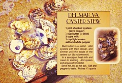 """A Recipe for Oyster Stew"" Old souvenir postcard from the Del-Mar-Va Peninsula (delmarvausa) Tags: disappearingdelmarva allgone postcard vintage delmarva delmarvapeninsula maryland vintagedelmarva postcards oldpostcard delaware easternshore vintagepostcard thingsthataregone recipe oysters oysterstew souvenir oysterstewrecipe delmarvarecipe"