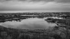 from the tower (KRR_3) Tags: sony a6000 nex selp18105g spring poznan poznań szachty pond lake