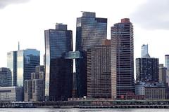 American Copper Buildings (jschumacher) Tags: nyc rooseveltisland americancopperbuildings skybridge eastriver