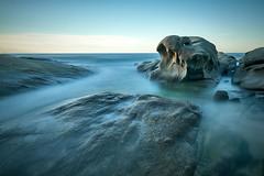 Roques Planes slow (Seral Mobar) Tags: fuji xt3 xf1024 mar sunrise sea ocean seascape albada costa brava catalunya catalonia rocks longexposure longshot exposure