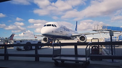 20190405_085730 (Inclusive.) Tags: long beach ca california airport terminal jetblue jet blue airlines outdoor exterior entry exit airbus a320 320