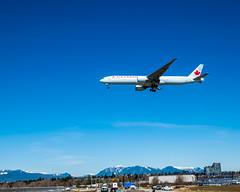 C-FNNU, A Boeing 777-300ER in Air Canada Livery, Soaring Into A YVR Landing (AvgeekJoe) Tags: 777 777300 777300er 777333 777333er aircanada boeing777 boeing777300 boeing777300er boeing777333 boeing777333er cfnnu d5300 dslr nikon nikond5300 aircraft airplane aviation jetliner plane
