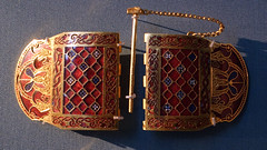 Sutton Hoo shoulder-clasps