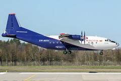 EW-483TI (PlanePixNase) Tags: aircraft airport planespotting haj eddv hannover langenhagen rubystar ruby star antonov an12