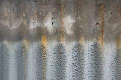 corrugated (M00k) Tags: scheveningen corrugated steel plate