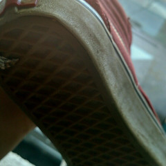 Dirty honey comb sole (SneakerManiac) Tags: vans soles shoes sneakers