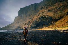 Black Sand Beach (Mathijs Buijs) Tags: black sand beach basalt southern coat vik myrdal south iceland europe canon eos 5d mark mk iii manfrotto