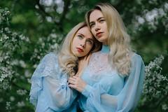 twins (Melodyphoto3) Tags: nature twins helios portrait bokeh