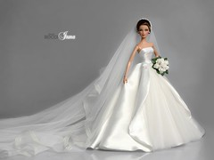 Inma, a Real Bride (davidbocci.es/refugiorosa) Tags: inma real bride novia barbie mattel fashion doll muñeca refugio rosa david bocci ooak