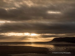Sunset over Caswell Bay 2019 01 25 #13 (Gareth Lovering Photography 5,000,061) Tags: sunset sun sunny sunshine caswell gowercoast gower swansea wales seaside landscape beach walescostalpath olympus penf garethloveringphotography