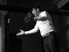 Cantaor El Almendro (Tastwo) Tags: 2017 spain flamenco performer people singer cantaor concert music musica tastwo tastwophotography bw blackandwhite monochrome jerezdelafrontera albertosanchez elalmendro guaridadelangel offfestival