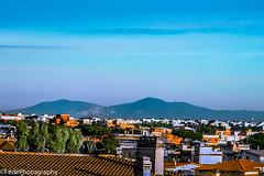 Dragona Verso Le Lontane Montagne (federicoloforte) Tags: roma sud ostia fiumicino montagne dragona italia case cielo azzurro alberi