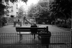 playground bucharest (Beto_mkna) Tags: hp5 400400 ecopro 11 12min canon ae1 28mm f28 bucharest fd