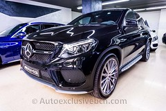 Mercedes-Benz GLE 43 AMG | Coupè | Negro | Piel Marrón | Auto Exclusive BCN