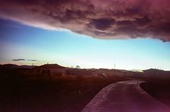 Cloud (hiphopmilk) Tags: copyright©jaredyehwooehmoehfilms konica offroad 現場監督 zoom 35mm 135film film analog analogue jaredyeh hiphopmilk kodak travel china sichuan aba hongyuan tibetan qiongxi village path road cloud sky lane